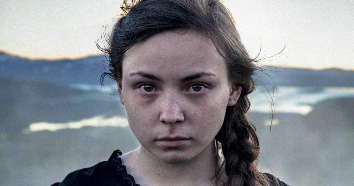 Foto van Lene Cecilia Sparrok, hoofdrolspeelster in Sami Blood.